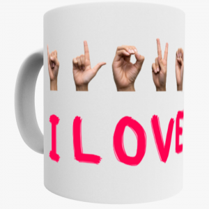 Mok - I love you - gebarentaal